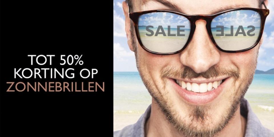 Zonnebrillen sale | Tot wel -50% korting