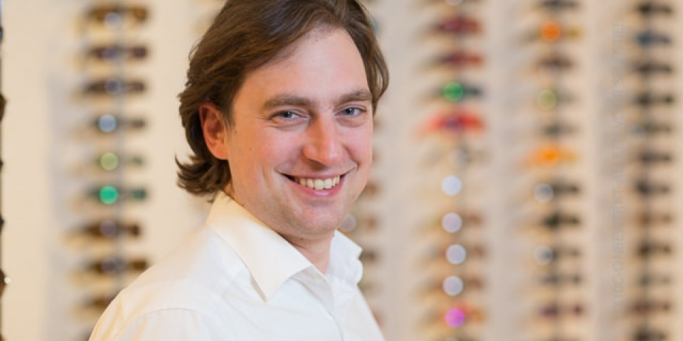 Richard Backx, Optometrist